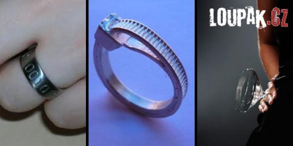 OBRÁZKY - Originální prstýnky