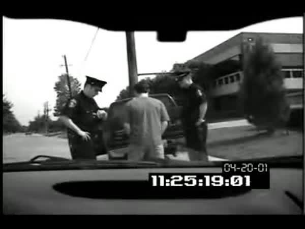 Policejní kontrola a opilý řidič