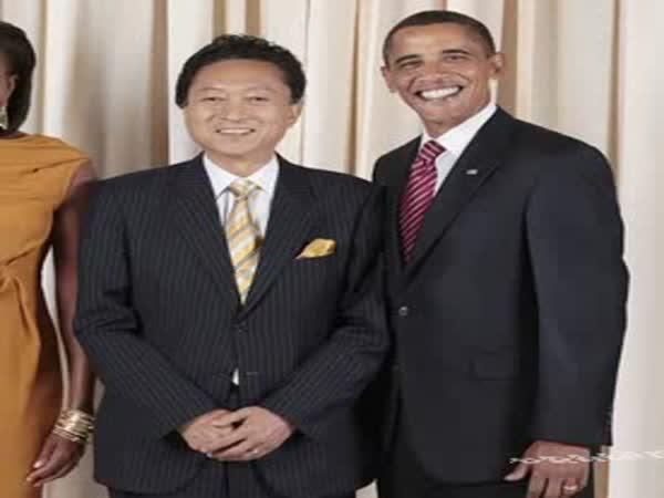 Barack Obama se směje stále stejně