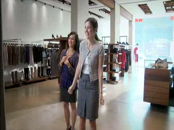 Nakupování oblečení v budoucnosti