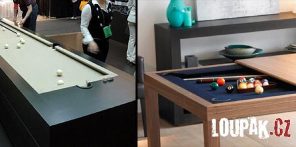 OBRÁZKY - Originální kulečníkové stoly
