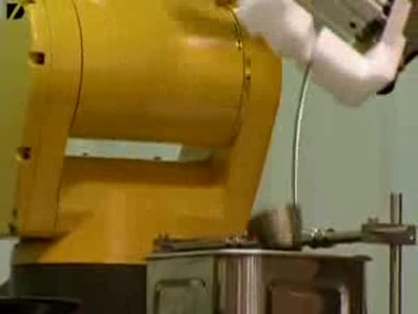 Restaurace s roboty
