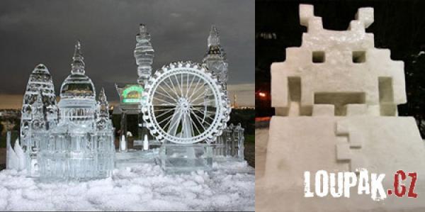 OBRÁZKY - Originální sochy a z ledu