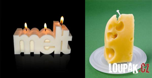 OBRÁZKY - Originální svíčky 2