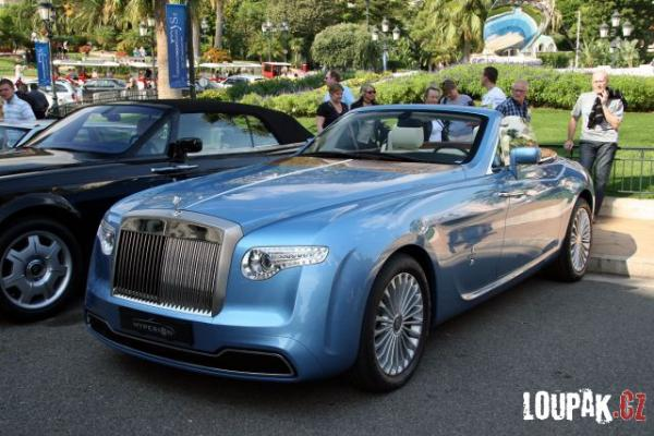 OBRÁZKY -  Monte Carlo - luxusní auta