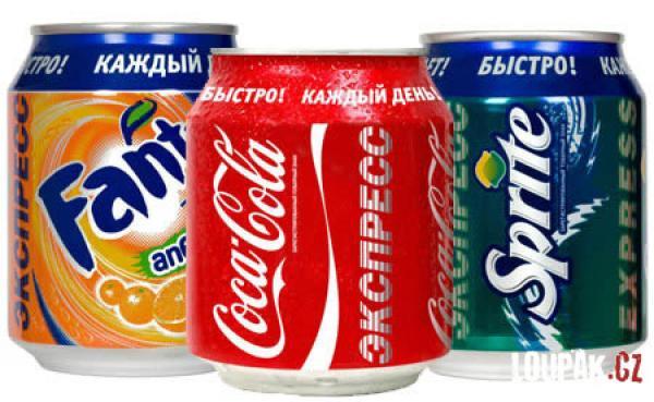 OBRÁZKY - Originální lahve Coca Cola