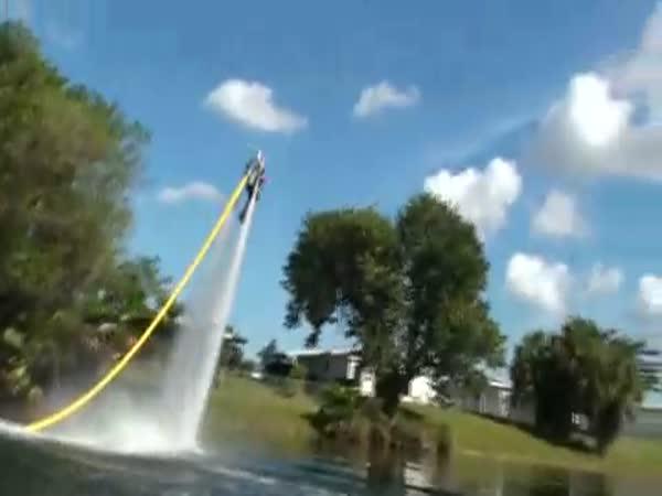 Vynález - Vodní jetpack