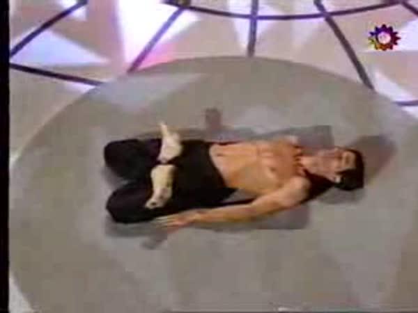 Chlapík s gumovým tělem