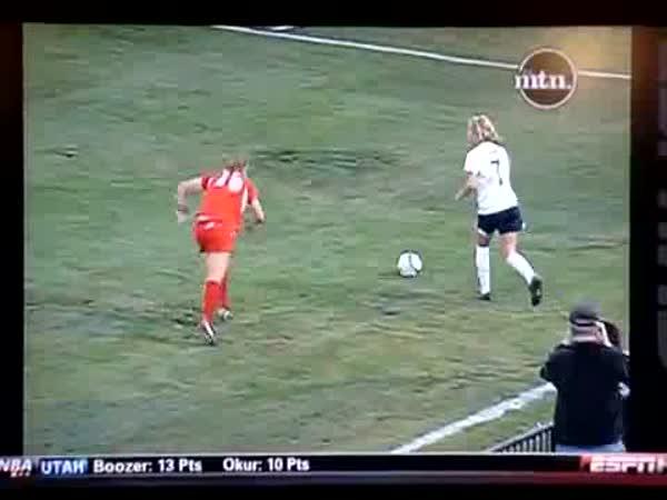 Ženský fotbal je velmi tvrdý sport