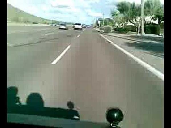 Golfový vozík - rychlost 230 km/h