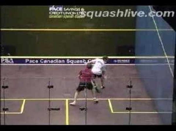 Squash - nádherné výměny [kompilace]