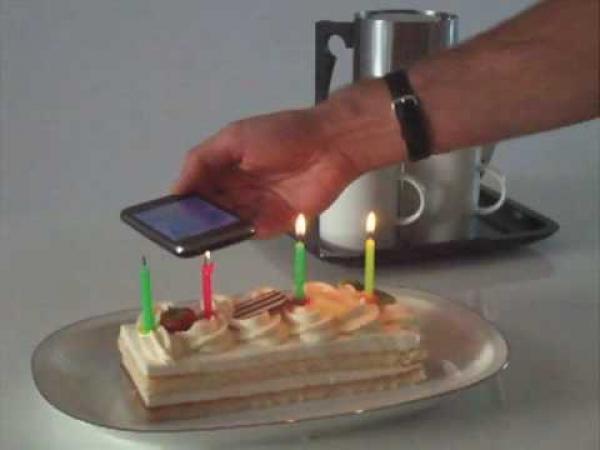 Iphone - větrák v mobilu