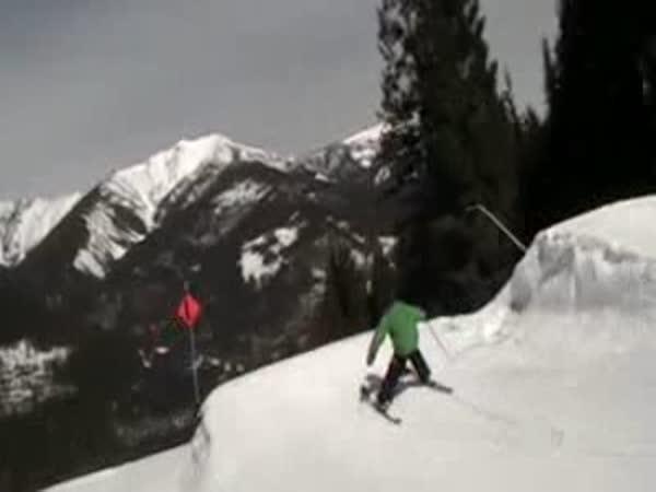 Lyžování - Triky na lyžích [kompilace]