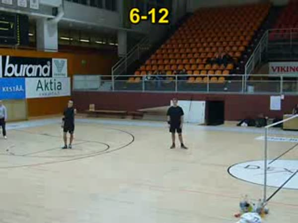 Footbag - zápas mistrů