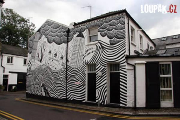 OBRÁZKY - Originální fasády domů