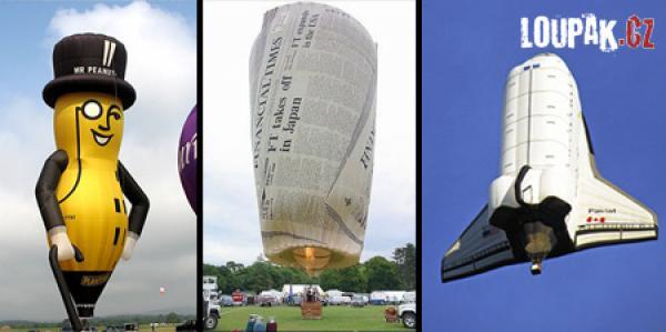 OBRÁZKY - Originální horkovzdušné balóny