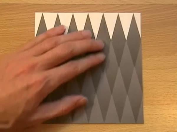 Optický klam - stejný odstín