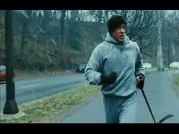 Rocky Balboa - trénink