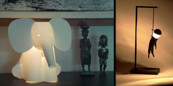 OBRÁZKY - Originální lampičky