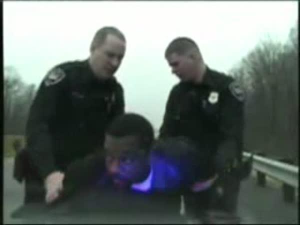 Kuriozní zatčení bankovního lupiče