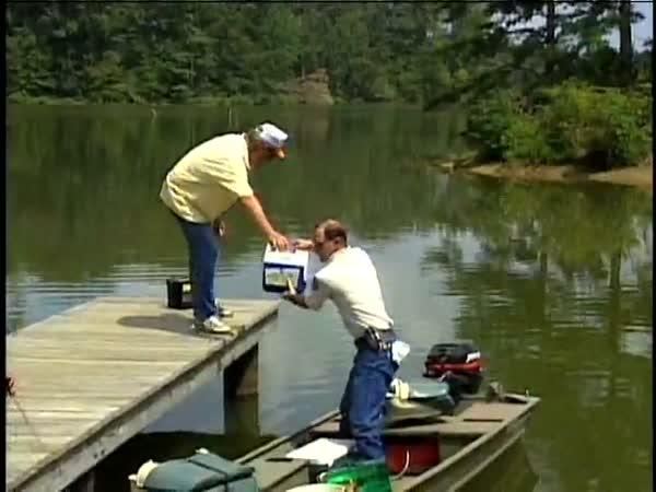 Rybáři - nehody z natáčení [kompilace]