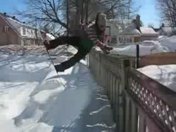 Nehody na snowboardu [kompilace]