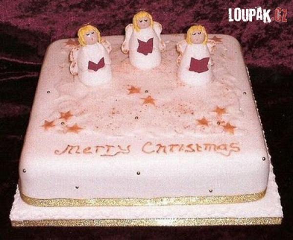 OBRÁZKY - Originální vánoční dorty