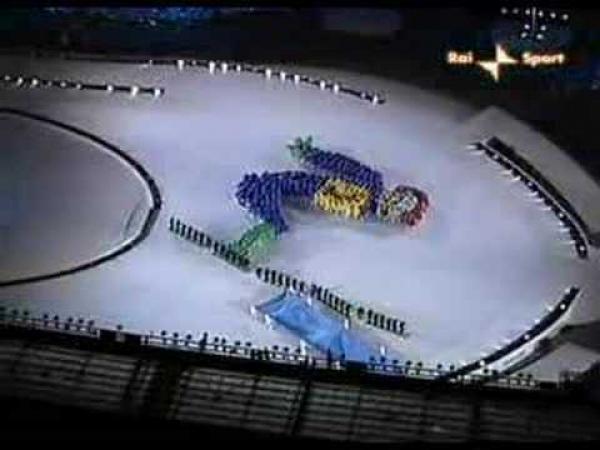 Olympijské hry Turíno 2006 - Zahájení