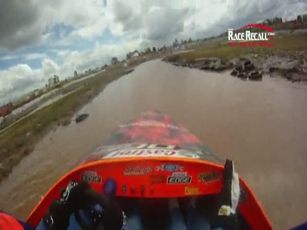 JetBoat - nehoda [onboard kamera]