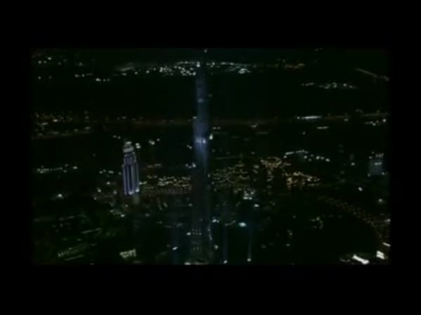 Dubai - Největší mrakodrap Burdž Dubaj