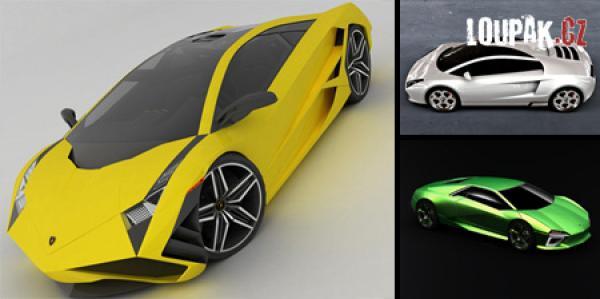 OBRÁZKY - Koncepty Lamborghini