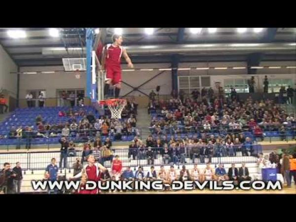 Dunkin Devils - Basketbalové kousky