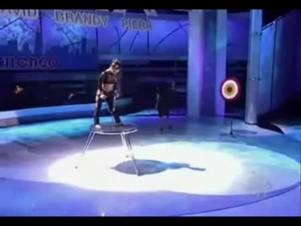 Borec - Lukostřelba nohama