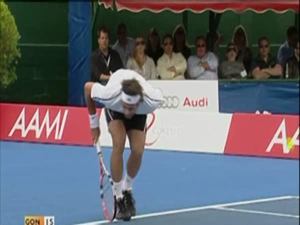 Tenis může být nebezpečný