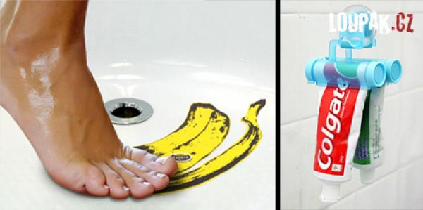 OBRÁZKY - Originální doplňky do koupelny