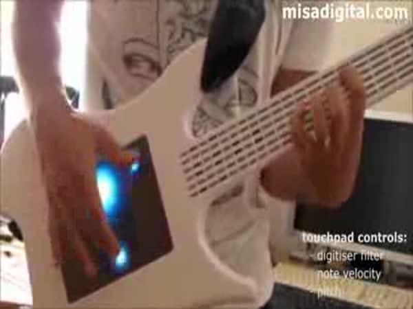 Kytara budoucnosti - žádné struny