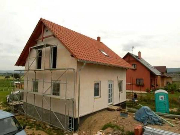 Jak se staví rodinný dům