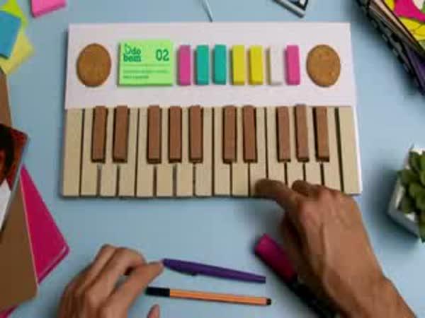 Stop motion - Sušenky a piano