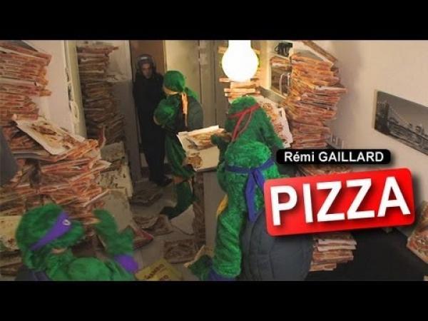 Remi Gaillard - Objednávka pizzy