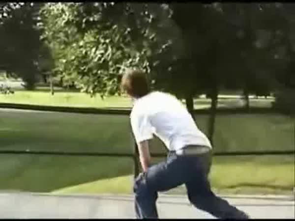 Skateboarding - nehody a pády