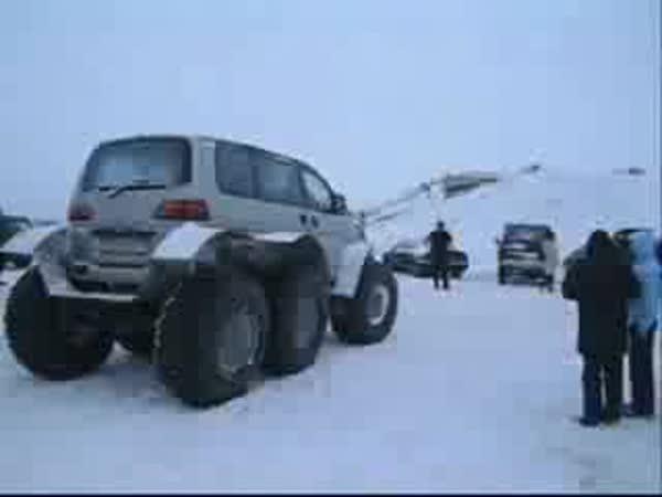 Automobil do zimy - 6x6