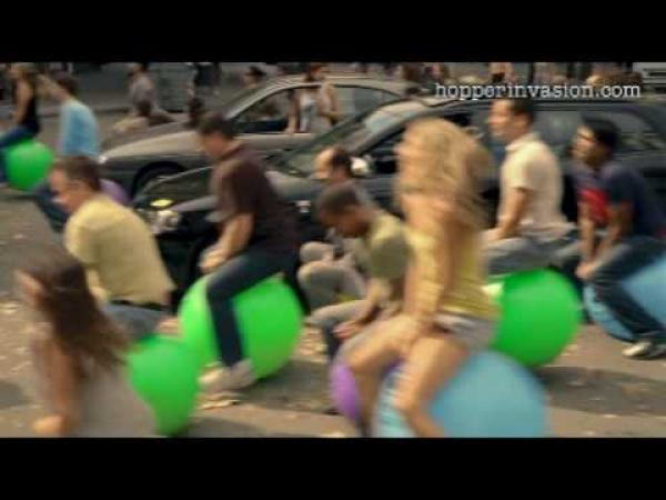 Madrid - Skákací míče