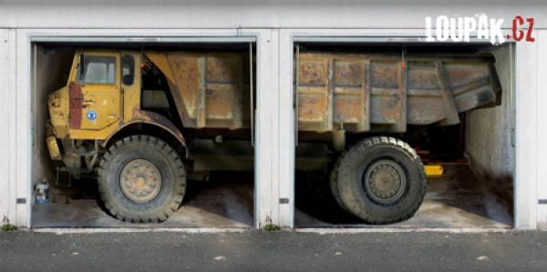 OBRÁZKY - Originální garážová vrata
