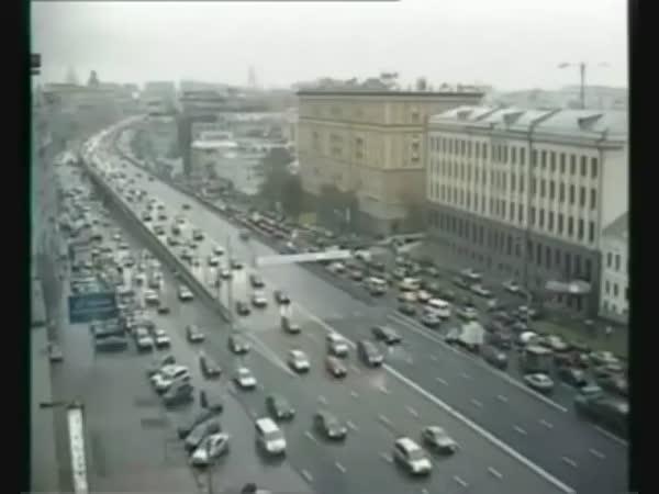 Moskva - Dopravní nehody [kompilace]