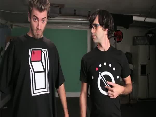 Stop motion - Válka triček
