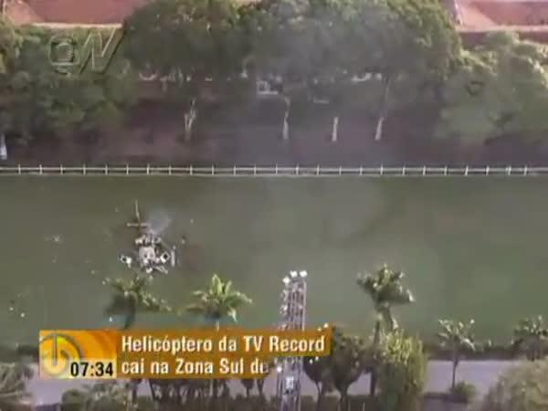 Pád vrtulníku 2 - přímý přenos