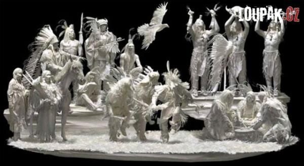 OBRÁZKY - Umění z papíru
