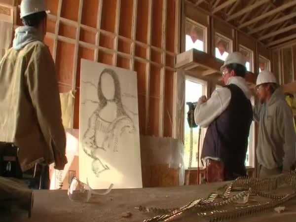 Borec - Nastřelovací hřebíky a Mona Lisa