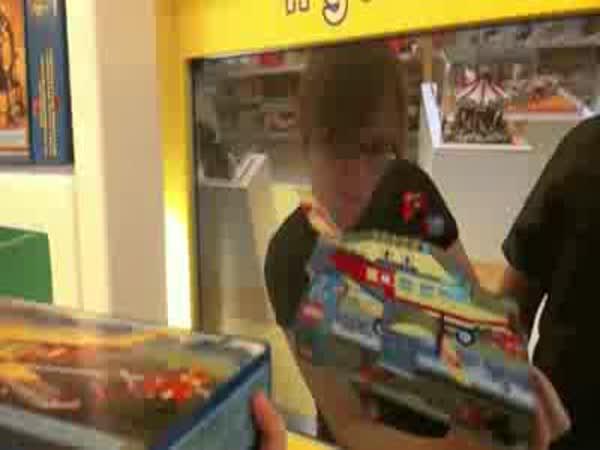 LEGO Vychytávka v hračkářství
