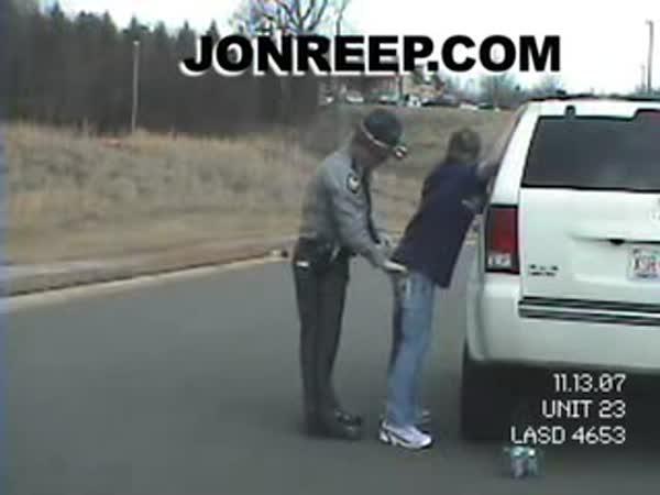 Policejní kontrola a opilý policista